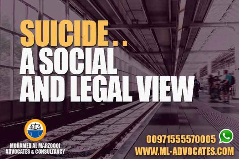 Suicide – Social and Legal View UAE Law