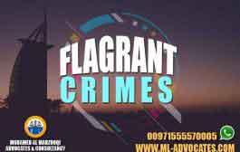 Flagrant Crimes - Mohamed Al Marzooqi Advocates & Consultancy