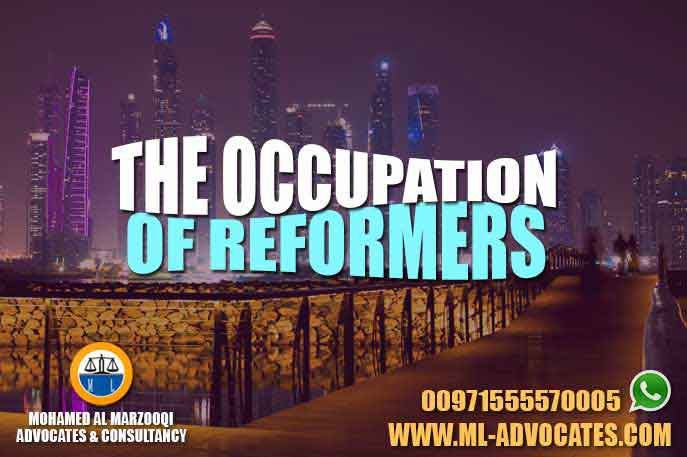 The Occupation of Reformers Their Tasks and Their Obligations