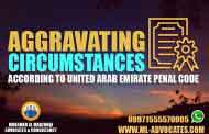 Aggravating circumstances according United Arab Emirate penal code