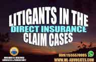 Litigants in the Direct Insurance Claim Cases According to the Emirati Civil Law