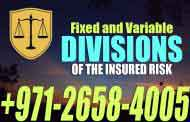 Fixed and Variable divisions of the insured risk - UAE LAW