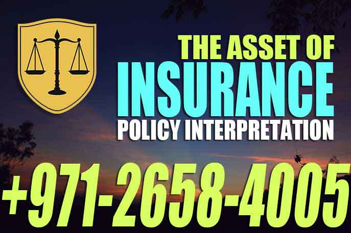 Insurance Policy Interpretation
