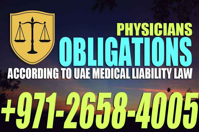 Physicians Obligations