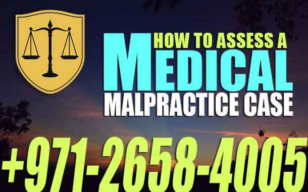 How to assess A Medical Malpractice Case - Mohamed Al Marzooqi