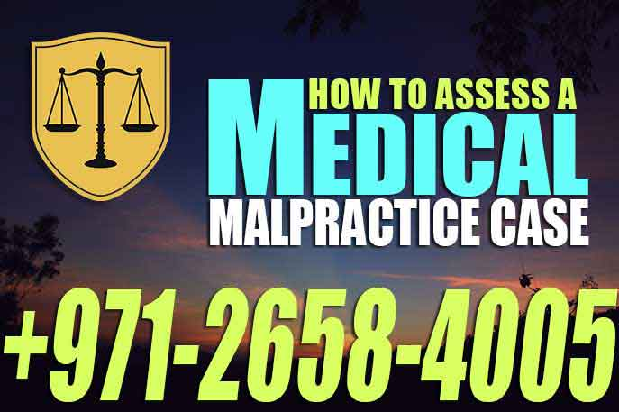 How to assess A Medical Malpractice Case