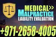 Medical Malpractice Liability Evaluation - UAE Law
