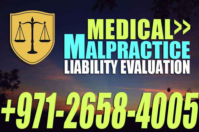 Medical Malpractice Liability Evaluation – UAE Law