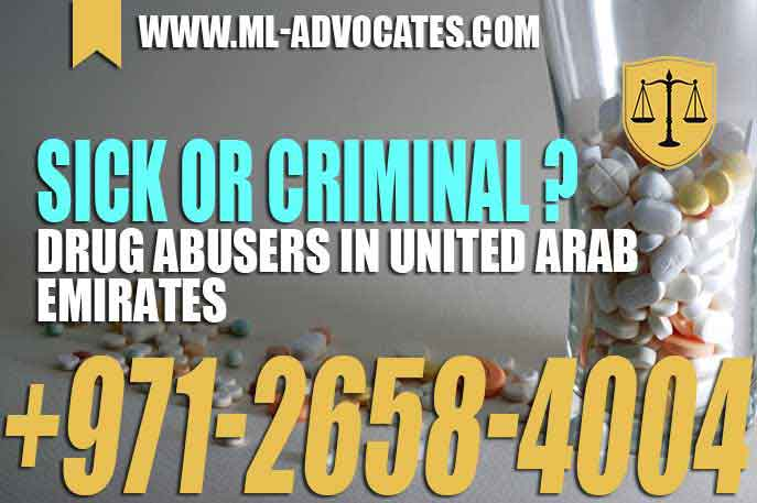 Sick or criminal – Drug abusers in United Arab Emirates