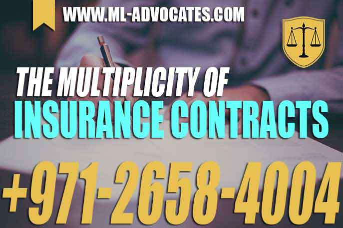 Multiplicity Of Insurance Contracts The assured's