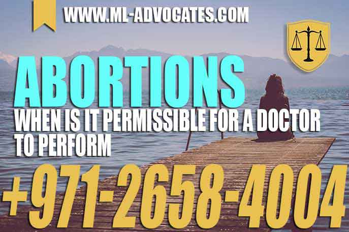 Abortions When is it Permissible For a Doctor To Perform
