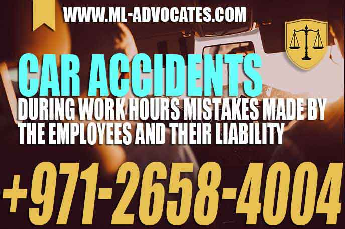 Car accidents during work hours