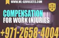 Compensation for work injuries - UAE Law