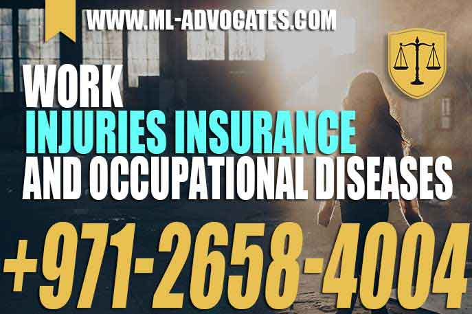 Work injuries insurance and occupational diseases – UAE Law