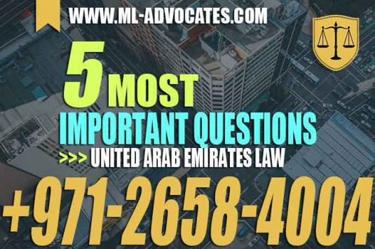 The 5 Most Important Questions in United Arab Emirates Law