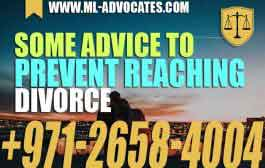 Some Advice to Prevent Reaching Divorce - Mohamed Mahmoud Al Marzooqi law firm