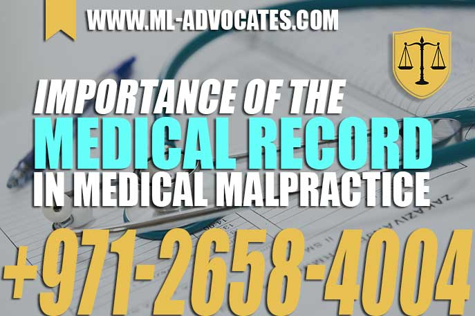 Importance of the Medical Record in Medical Malpractice
