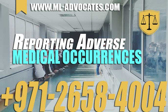 Reporting Adverse Medical Occurrences