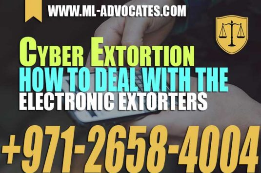 Cyber Extortion – How to deal with the Electronic Extorters