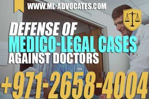 Defense Of Medico-Legal Cases Against Doctors